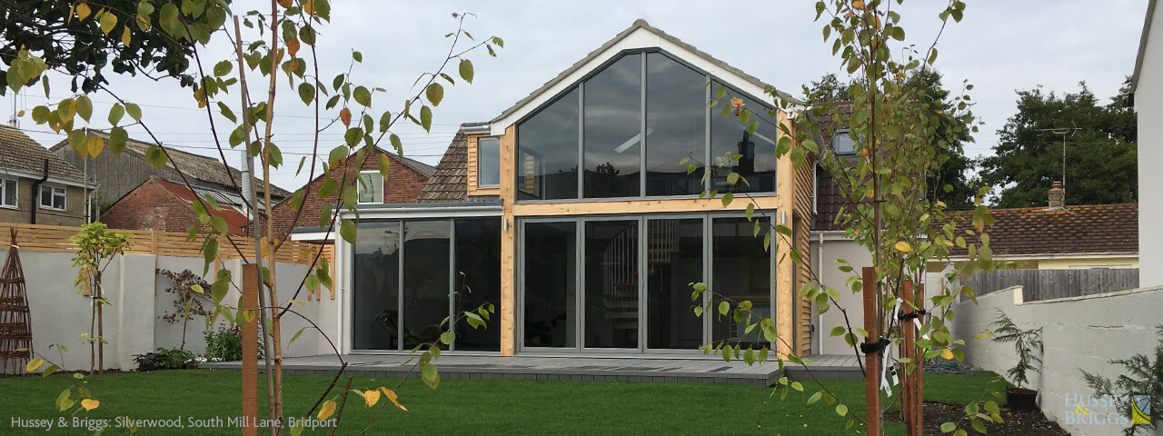 Hussey and Briggs Modern Extension Bridport