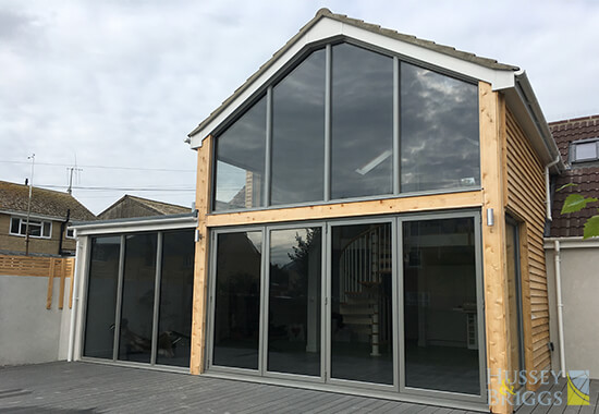 anti-sun-glass modern extension